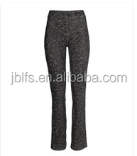 2014 customized wholesale women wear knitted trousers