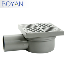 UPVC plastic stink prevention round shower floor drain