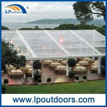 Unique clear roof tent transparent wedding marquee for sale