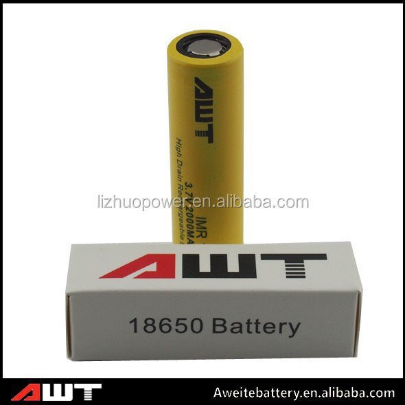 High Capacity 18650 2000mAh battery manufacturer batteries battery 6v 20hr