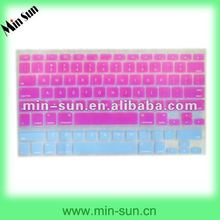 US hot-selling colorful laptop keyboard cover/silicone case