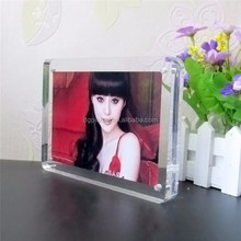 High quality clear picture acrylic photo frame