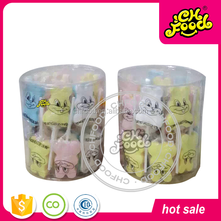 Lovely White Rabbit Shape Lollipop Candy