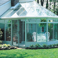 Roofing glass sunroom panels