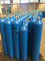 40L Oxygen/Argon/Co2 /O2 Gas Bottle with value