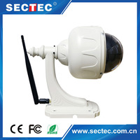 Pan/Tilt/Zoom Robot P2P function 1080p HD IP cctv camera IP66 outdoor camera housing