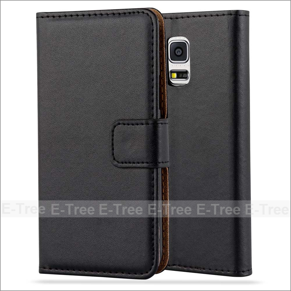 Wholesale PU Leather Wallet Phone Case With Card Slots For Galaxy S5 Mini, Flip Cover For Samsung Galaxy S4 Mini