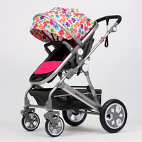 Belecoo Brand China 2016 baby shop best high landscape stroller/pram OEM