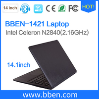 World cheapest laptop 14.1inch Chinese laptop with English/Spanish/German/Russian keyboard PC