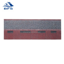 Best selling products Environmental Friendly Best Quality of colored double layer roofing shingles