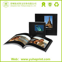 2015 China factory promotional printing free design new style digital printed photo my hot flip book printing