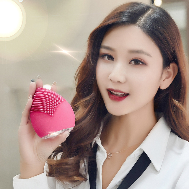 New Products 2018 Chinese Supplier Anti Aging Face Cleanse Private Label Facial Cleansing Brush