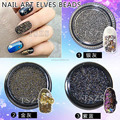 easy apply & remove nail art 3D mini retro bead DIY decoration
