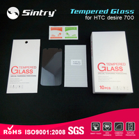 Anti blue light mobile tempered glass 9H New customized phone Nano coating for htc desire 700 dual sim screen protector