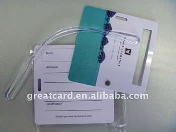 High quality airport travel luggage tag