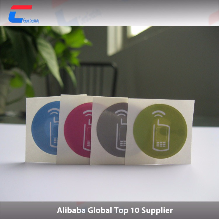Cheap price paper nfc sticker mobile/android rfid clear nfc tag