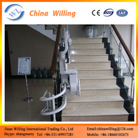 Outdoor Inclined Stair Chair Lift/Electric Wheelchair Lift Table