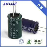 mini 10UF 25V 4*7mm aluminum electrolytic capacitor for capactor Operating Life Long