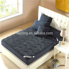 Corduroy Cotton Fabric Black Colour Quilting Bedding Sheet Quilt Cover