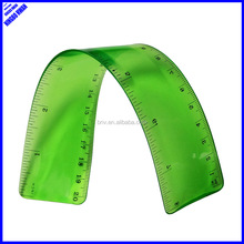 New designer clear PVC flexible curve rolling ruler
