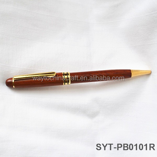Expensive handmade wood luxury ball point pens