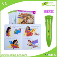 automatic book scanner electronic pen in English and Spanish Russian