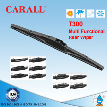 Carall Rear Wiper Single Pack T300 Auto Spare Parts 10-16 inch Wiper ISO/TS16949 Windshield 11 Adapters Rear Wiper Blade