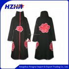 Hot anime NARUTO akatsuki manteau anime cosplay costume akatsuki manteau