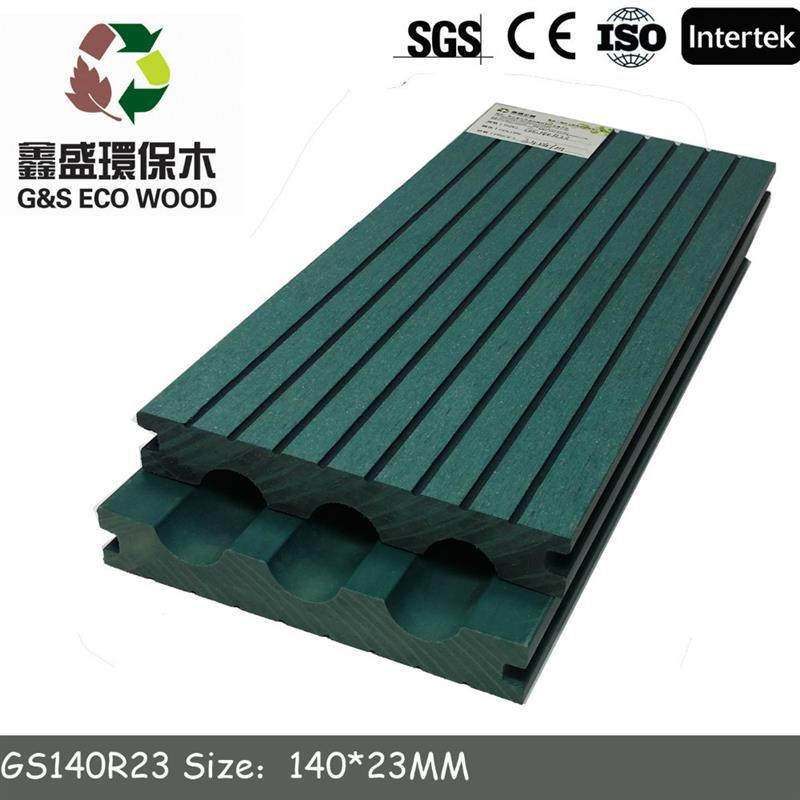 gswpc Factory low price wpc decks for outdoor and swimming pool/wpc mixed deck