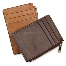 Multiple Bank Leatherette Card Holder Wallet With Zip