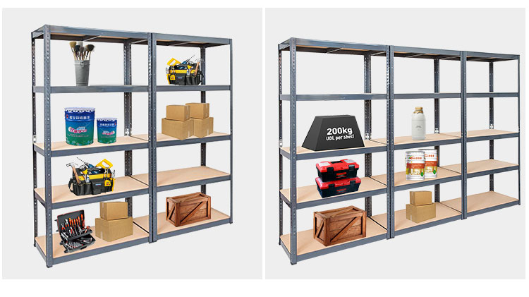 Heavy duty warehouse mdf shelf rack for sale