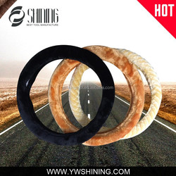 2015 NEW MODEL EUROPE QUALITY WINTER USE STEERING WHEEL COVER