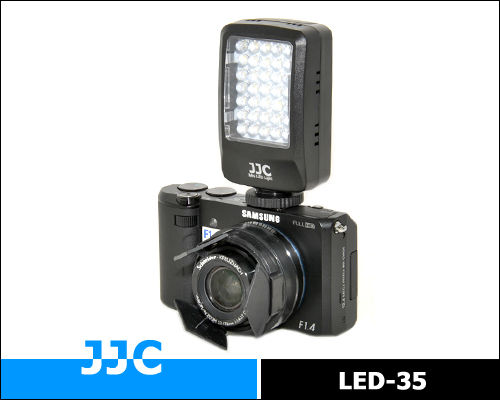 JJC LED-35 MINI video Light /macro photography light suitable for mirrorless cameras