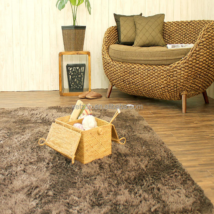 indoor high quality shaggy carpet types prices