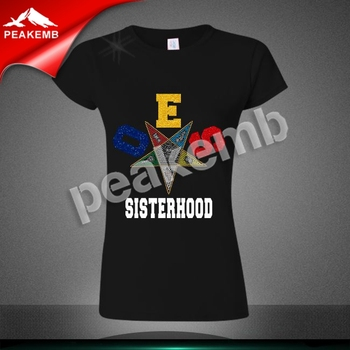 Hot Fix OES SISTERHOOD Metallic Foil  Heat Transfer Glitter Vinyl For T Shirt