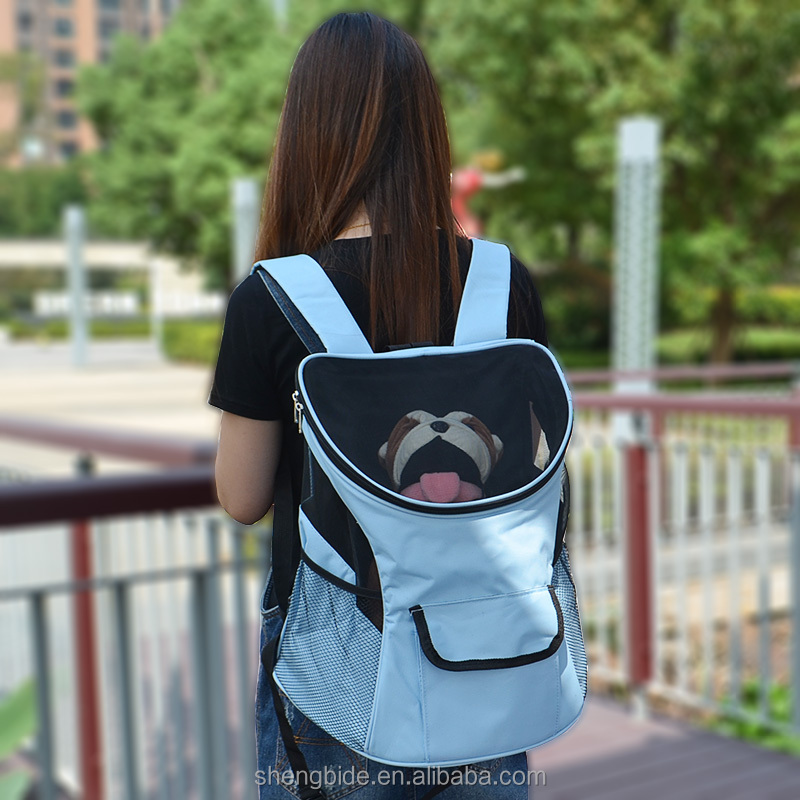 adjustable dog carrier pet pocket dog carrier dog backpack outdoor
