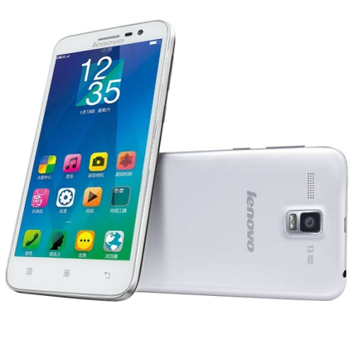 Original Lenovo A8 A806 16GB 5.0 Inch IPS Screen Android 4.4 4G Smart Phone, RAM: 2GB (Whiite)