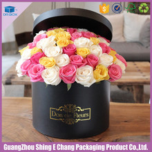Printing Provided/gift packaging supplies paper tube box for wedding flower/wedding gift box