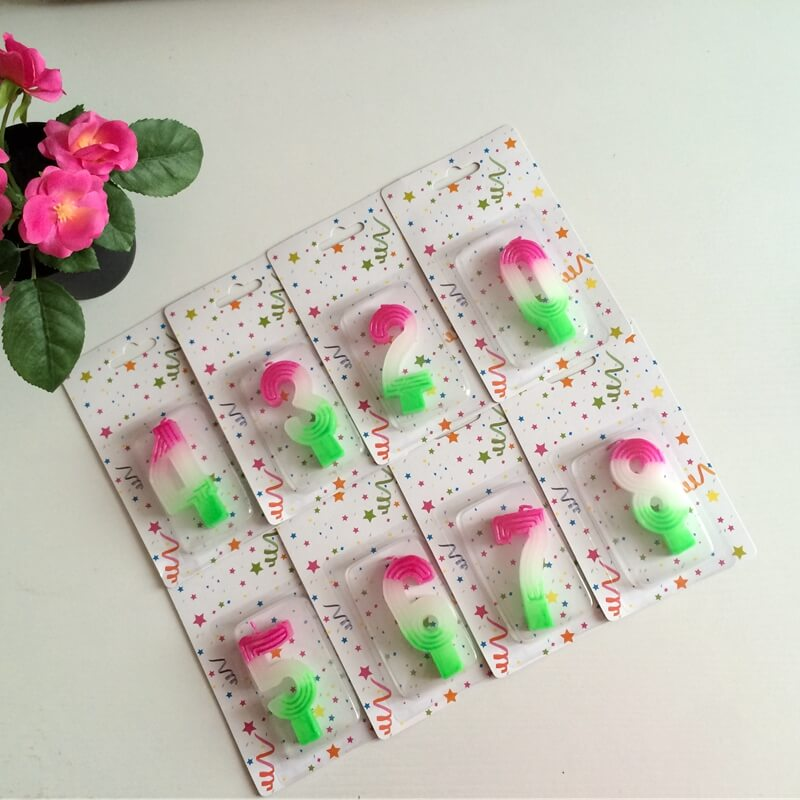 Birthday Anniversary Cake Numbers Age Candle Party Supplies Decoration