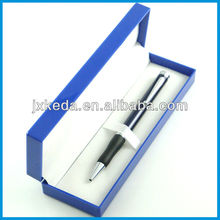 2014 High quality twist open balls pen with rubber grip + customized logo for promotional