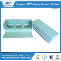 Folded Cardboard Essential Oil Packaging Paper Boxes Custom Wholesale manufacturer