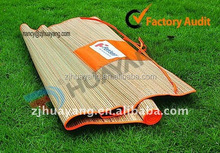 "Straw Beach Mat Large 70.5"" x 23.5"" Yoga Pool Sand Outdoor Bamboo Ships Free"