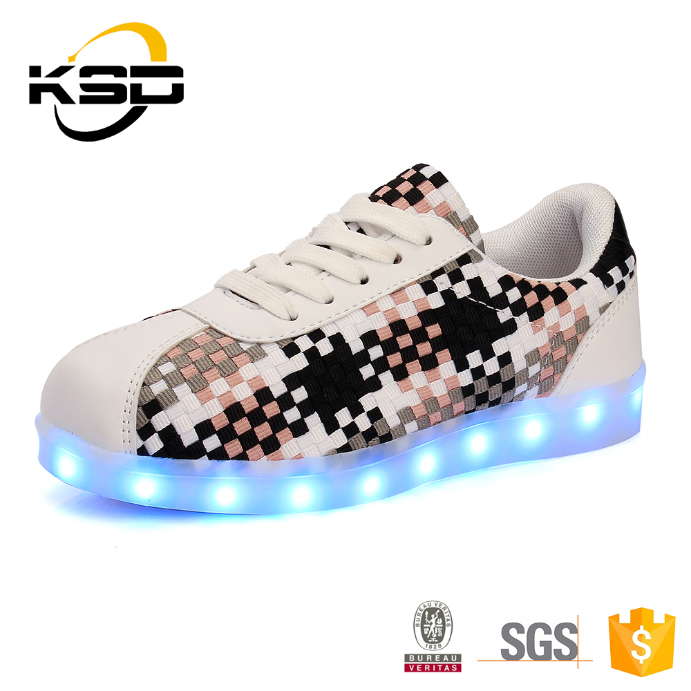 Women'S Light Up Shoes Flashing Led Sneakers With Lights For Adults