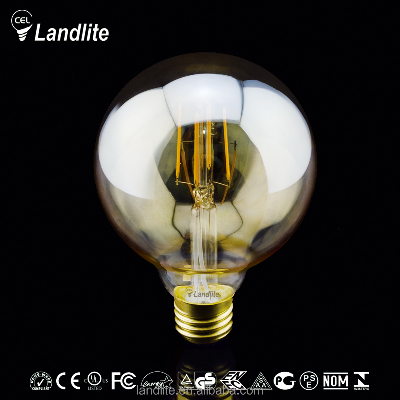 High Quality 230V G95 Amber Led Edison Bulb B22 E27 Led Filament