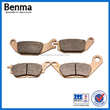 Copper based motorcycle disc brake pads for YZF-R15 2012-2016