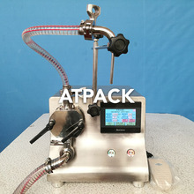 Atpack high-accuracy gear pump Electric driven open mouth bag filling machine with CE GMP