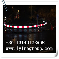 Global certificated Waterproof IP68 colorful led curbstone / led solar blue kerbstone lights