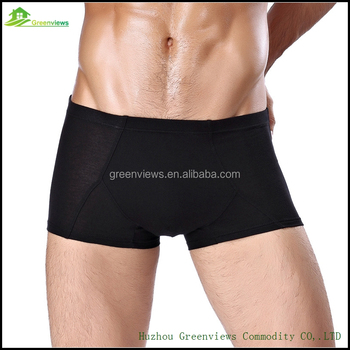 China supplier hot men sexy transparent underwear boxers multi colors soft bamboo underwear wholesale