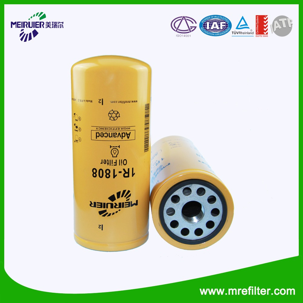 Filter Manufacturer Automotive Oil Filter Lubrication System for Construction Equipment 1R-1808