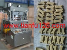 ZP23D rotary tablet press used to produce dog food tablet, dog food additive
